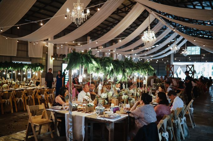 Barn Themed Wedding - Oliver and Sally by Mot Rasay Photography - 002