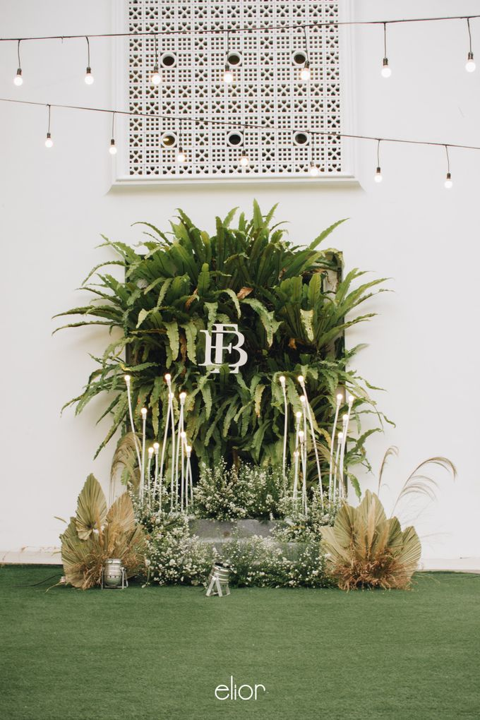 The Wedding of Budiman and Eunike by Elior Design - 015