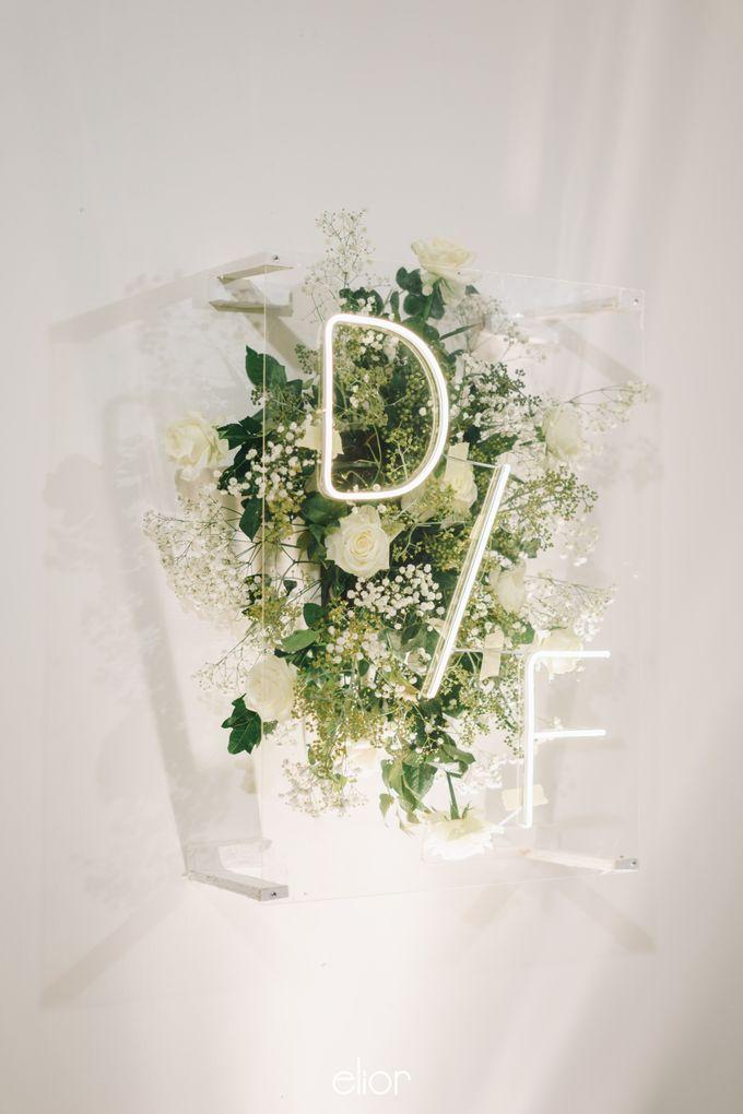 The Wedding Of David & Felicia by Elior Design - 018