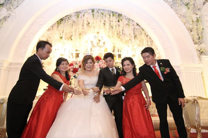 Wedding party of David and Shu Li at Angke Restaurant by Angke Restaurant & Ballroom Jakarta - 007
