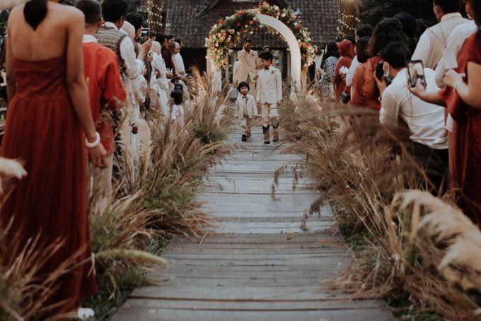 The Wedding of Nysha and Fariz by Elior Design - 026