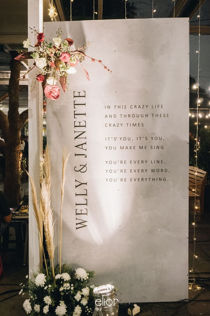 The Wedding of Welly and Janette by Elior Design - 013