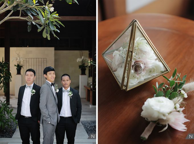 Billy & Rachel Wedding by Wong Hang Distinguished Tailor - 008