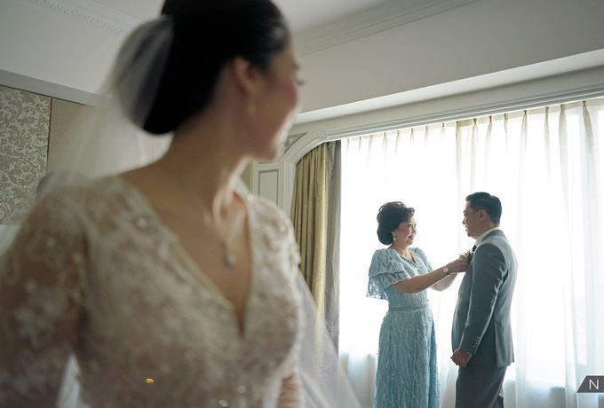 Felix & Hanna Wedding by Shangri-La Hotel - 008