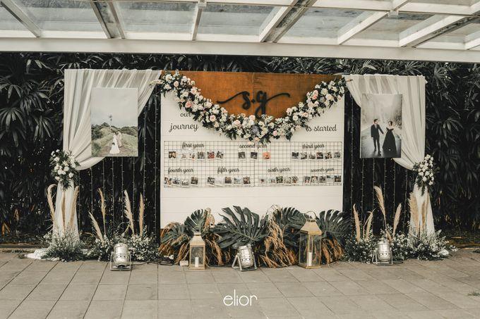 The Wedding of Stephan & Gabby by Elior Design - 020