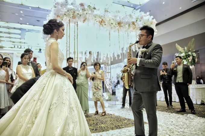 The Wedding of Kesya & Davin at K-Link Tower Ballroom by La Oficio Entertainment - 003