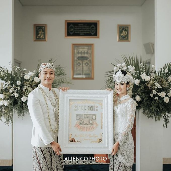 INA & REZCA WEDDING by Seserahan Indonesia - 003