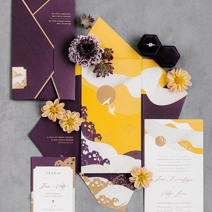 Japanese Theme Invitation by Pensée invitation & stationery - 001
