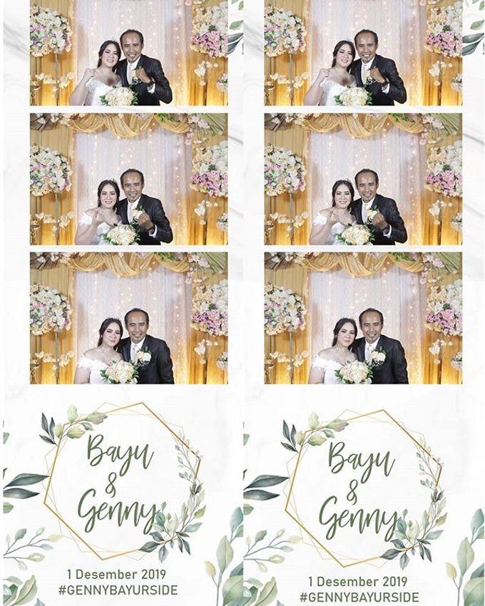 Photostrip 4 Hours Bayu & Genny by Austin Photobooth - 002