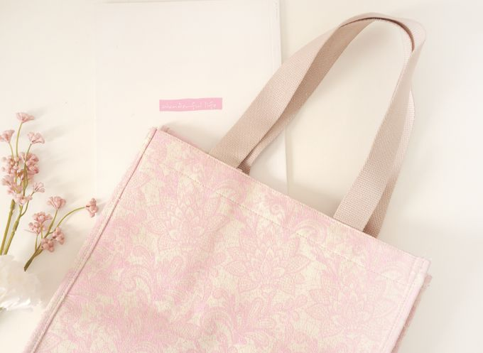 Canvas Tote Bag by Red Ribbon Gift - 001
