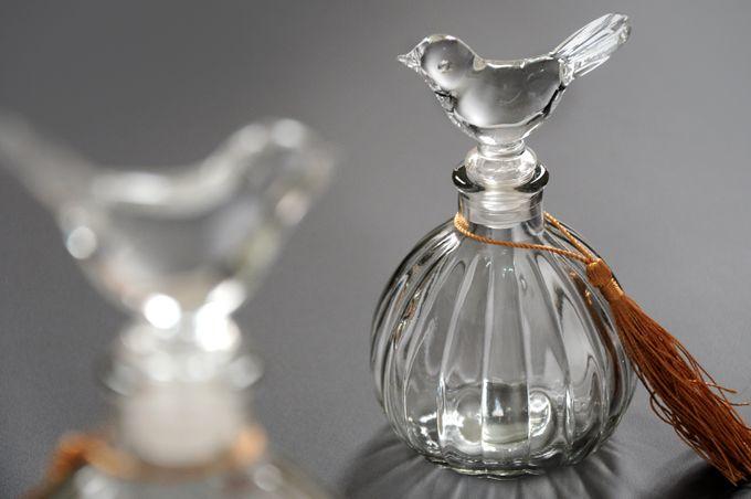 Dainty Glass Jar (Bird Design) by Red Ribbon Gift - 001