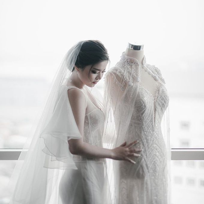 Prawira & Feli Wedding by unravel photograph - 001