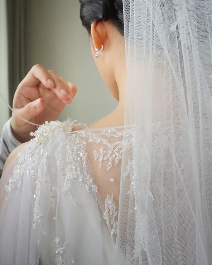 Markus & Tressi's Wedding by Cloche Atelier - 002