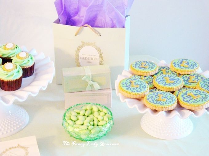 Laduree themed dessert table by Fancy Paperie - 001