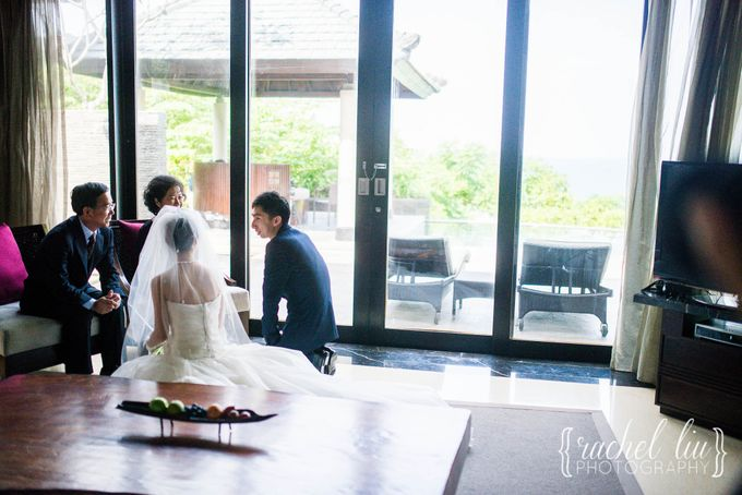 ASHLEY & MICHAEL WEDDING by Banyan Tree Ungasan Resort - 007