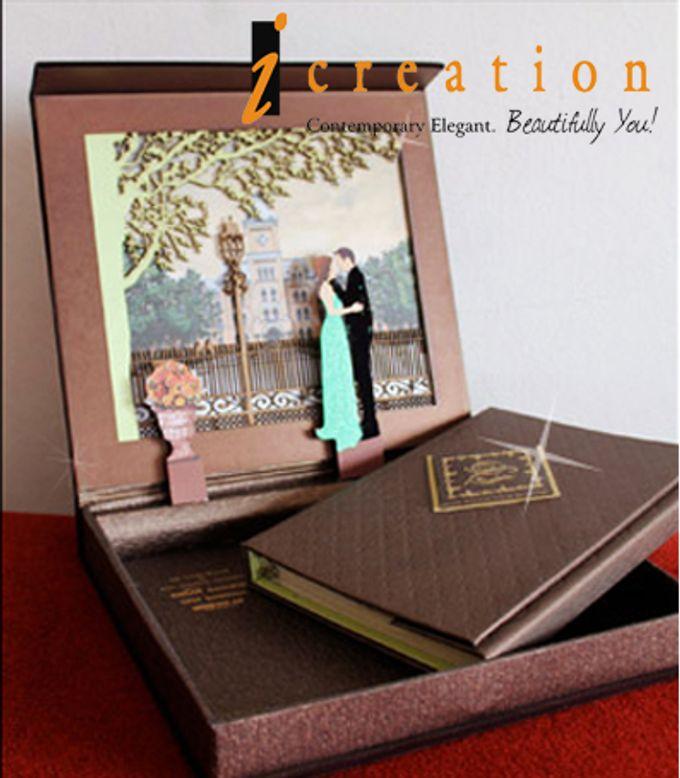3 Dimensional Wedding Invitation by Icreation - 007