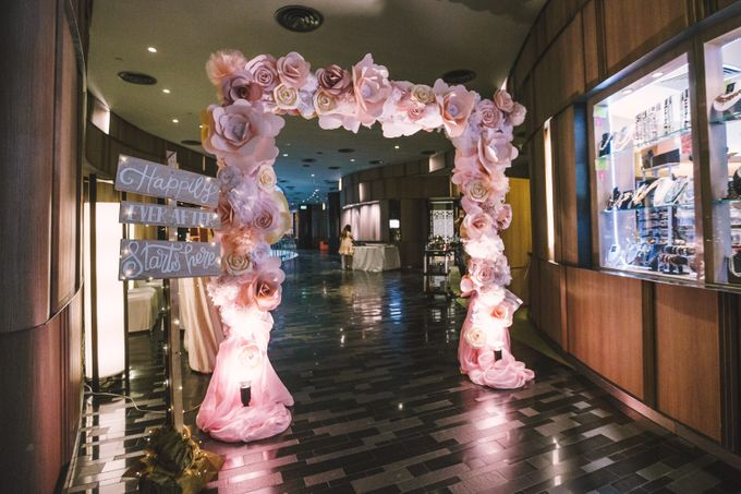 Wedding of Huang & Imelda by Rosette Designs & Co - 005