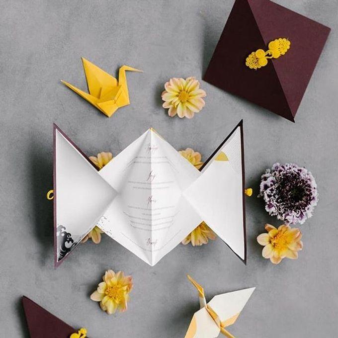 Japanese Theme Invitation by Pensée invitation & stationery - 002