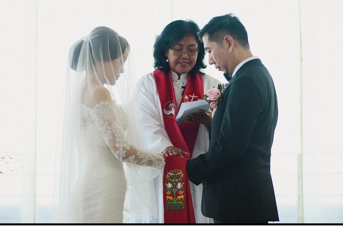 Wedding of Vina & Simon by Hilton Bali Resort - 012