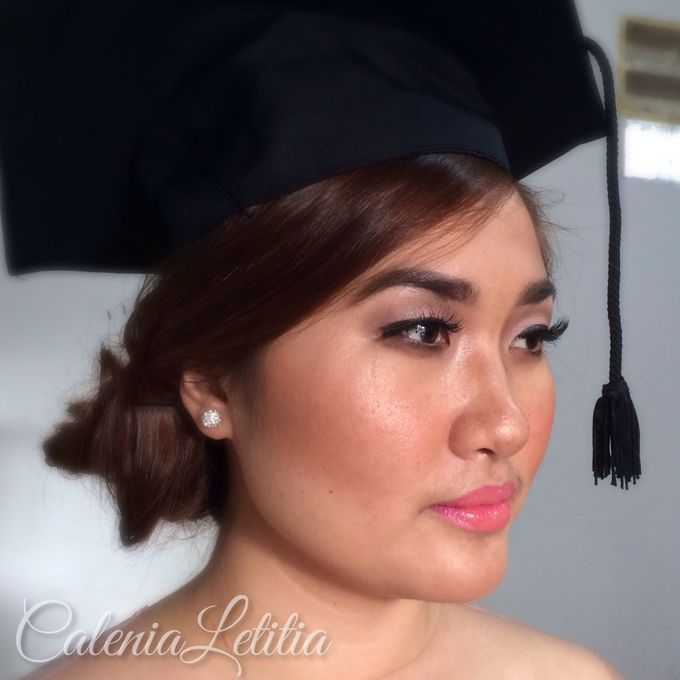 Graduation Makeup by Calenia Letitia Makeup Artist - 005