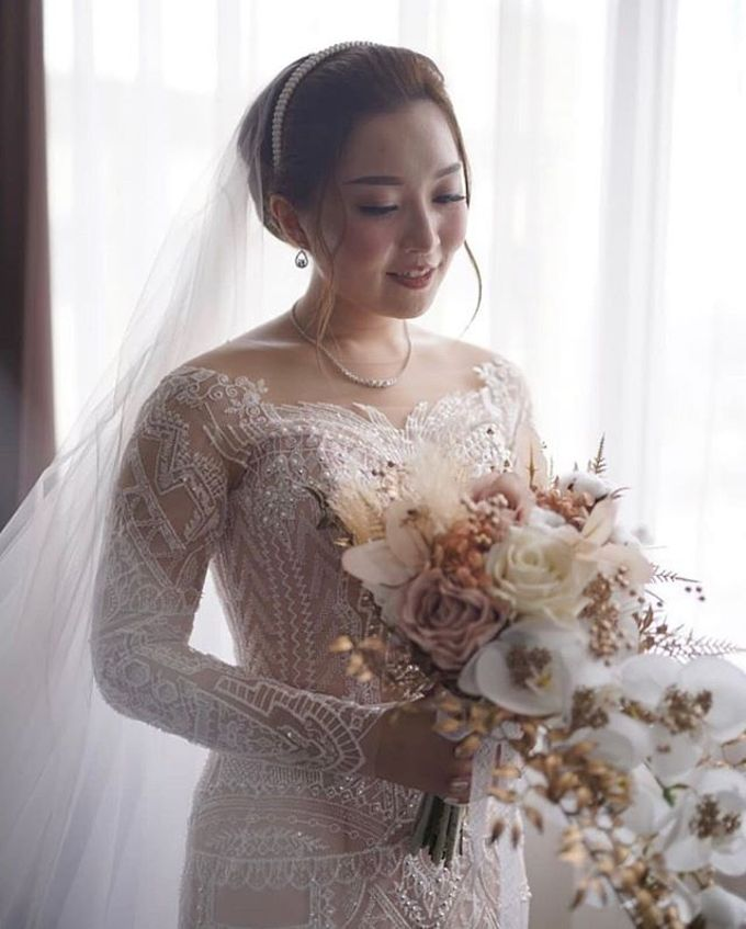 Nadia Steven Wedding by Sisca Zh - 003