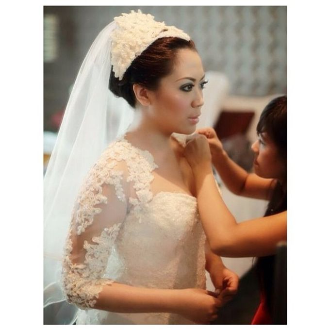 Beautiful Bride by DONNY LIEM The Make Up Art - 006