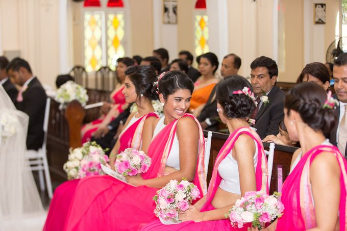 Wedding of Roshani & Charith by DR Creations - 045