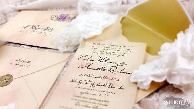 'Love Letter' Invitation by PurityCard - 005