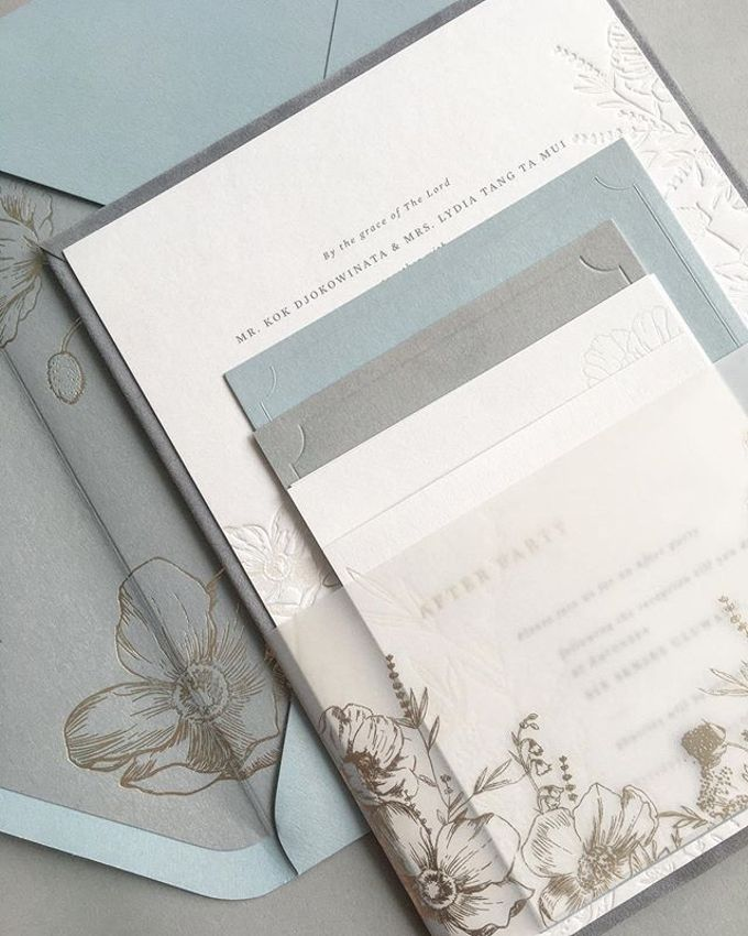 Chris & Eliza by Pensée invitation & stationery - 006