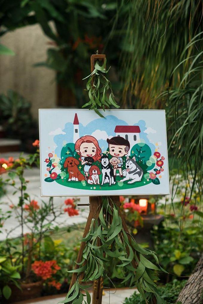Abraham & Patty by Astagina Resort Villa & Spa Bali - 010