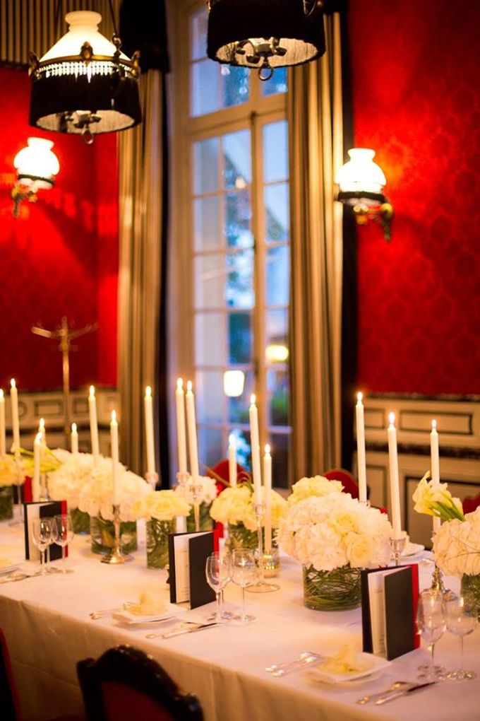 Real Wedding of Meredith & Gabe by Luxe Paris Events - 001