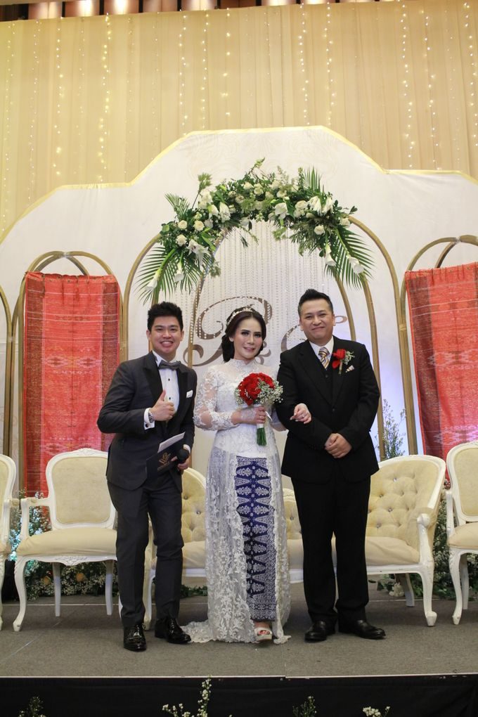 Mc Entertainment Wedding Sheraton Gandaria - Anthony Stevven  with Double V Entertainment Jakarta by Anthony Stevven - 021