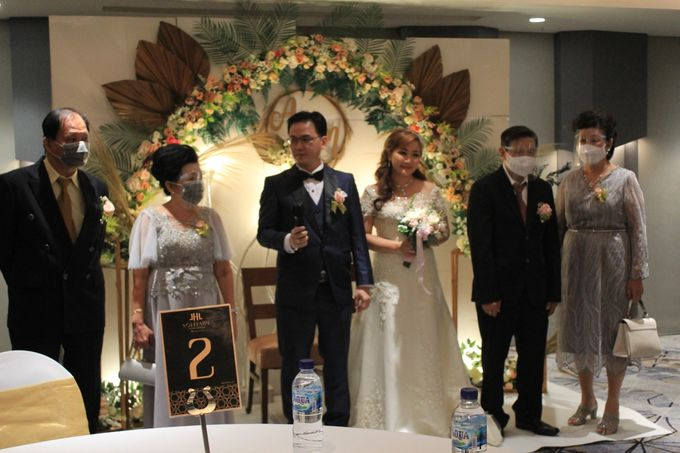 MC Wedding Double V Entertainment at JHL Solitaire Serpong by Double V Entertainment - 015