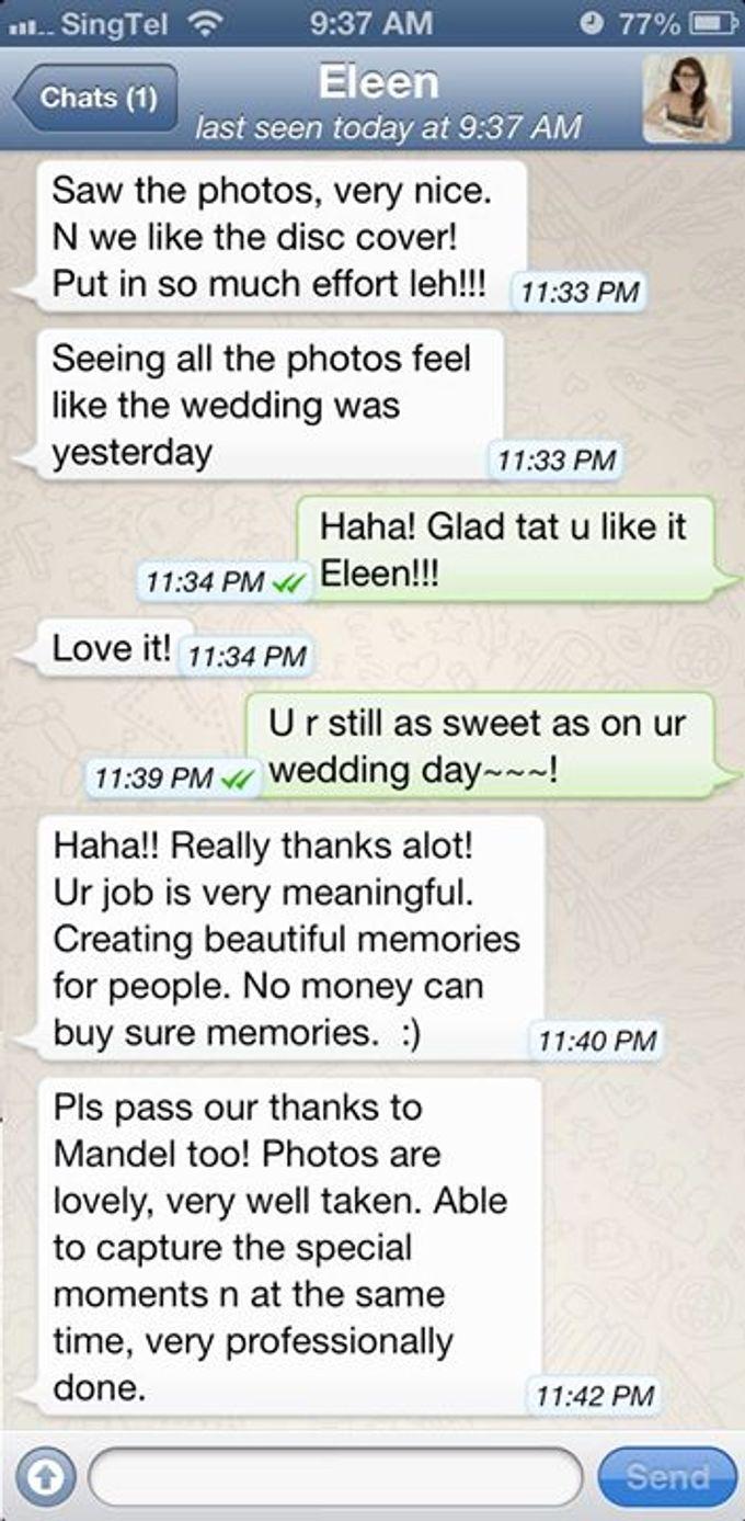 Real Wedding Testimonials by Mojoideas - 008