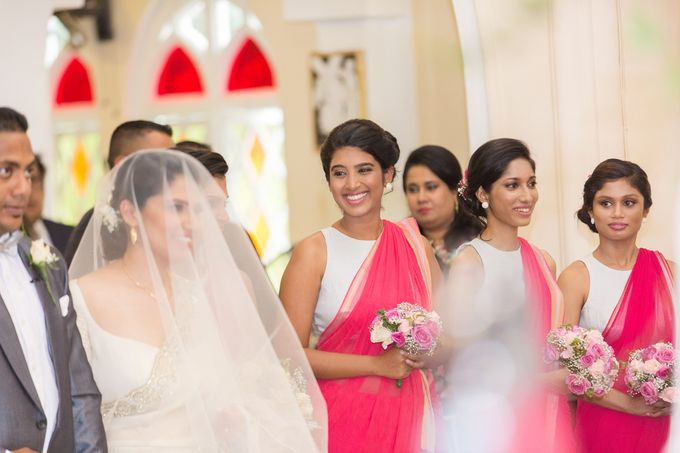 Wedding of Roshani & Charith by DR Creations - 047