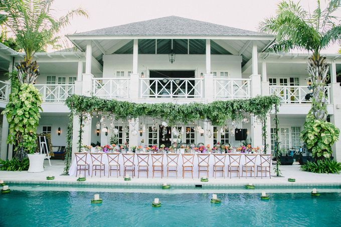 J&M Rustic Glam Cliff Top Wedding by THE UNGASAN CLIFFTOP RESORT BALI  - 022
