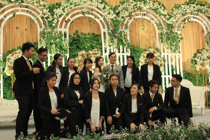MC Wedding Menara Mandiri Jakarta - Anthony Stevven by IKK Wedding Planner - 009