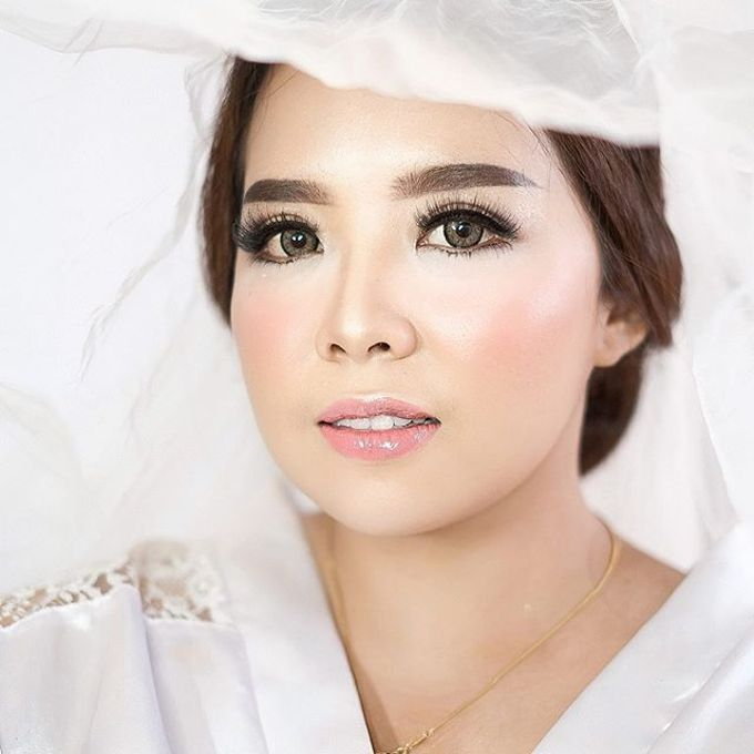 Wedding ms kinan  by Sandra Bridal and Makeup Academy - 002