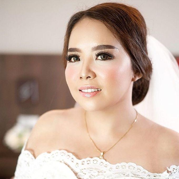 Wedding ms kinan  by Sandra Bridal and Makeup Academy - 001