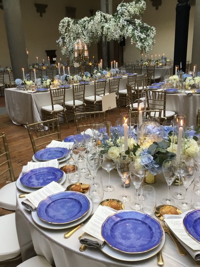 A blue wedding by C&G Wedding and Event Designer - 008