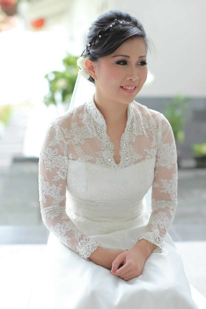 Wedding | Linawaty & Eric by Felicia Sarwono Makeup Art - 001