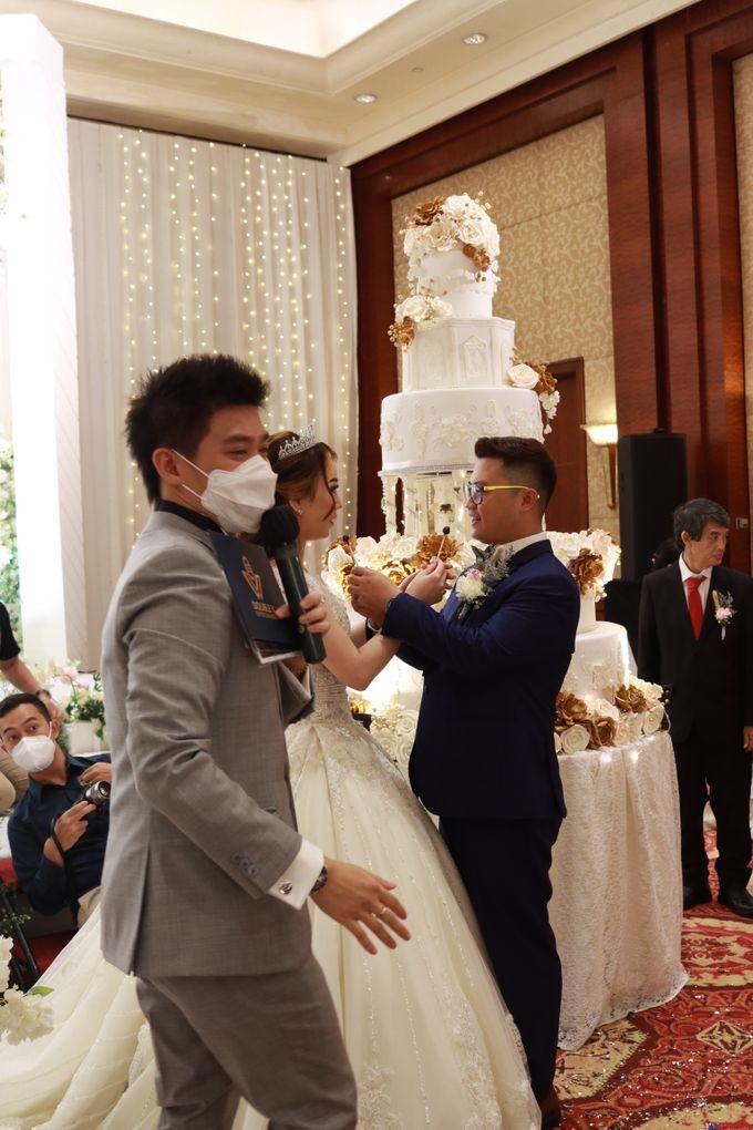 Entertainment Jazz Wedding JW Marriott Jakarta - Double V Entertainment by EIFFEL CAKE - 012