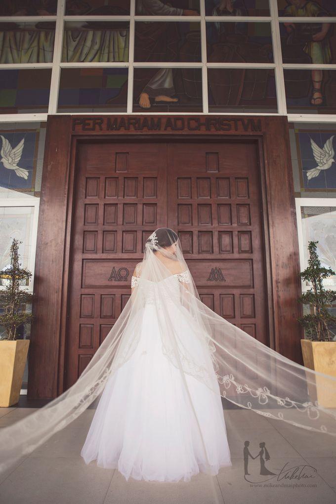 IC & Jasmine Alabang Wedding Highlights by Mike & Mai Photography - 014