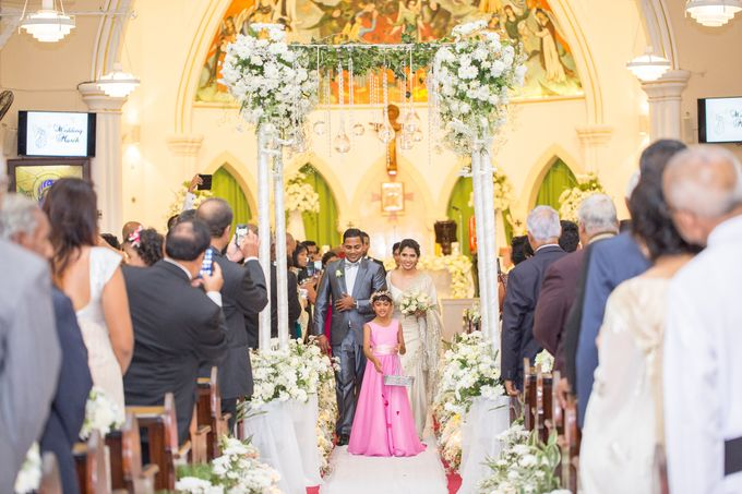 Wedding of Roshani & Charith by DR Creations - 050
