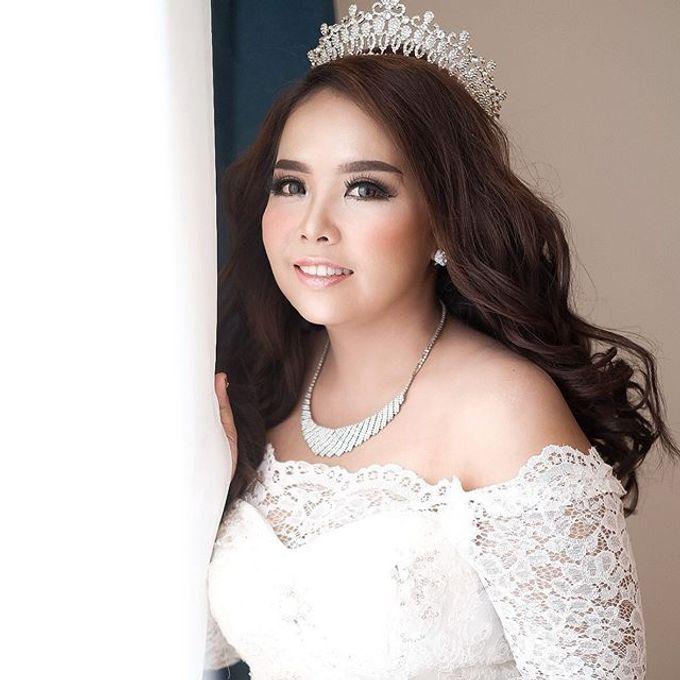 Wedding ms kinan  by Sandra Bridal and Makeup Academy - 003