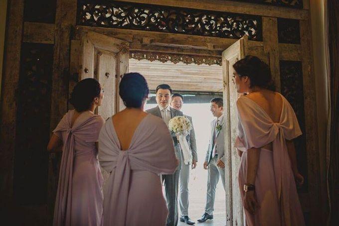 Steven & Aie Enchanted Garden Wedding by Flying Bride - 011