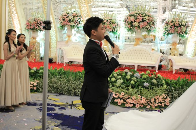 Mc Wedding Menara mandiri  Plaza Bapindo Jakarta - Anthony Stevven by IKK Wedding Planner - 008
