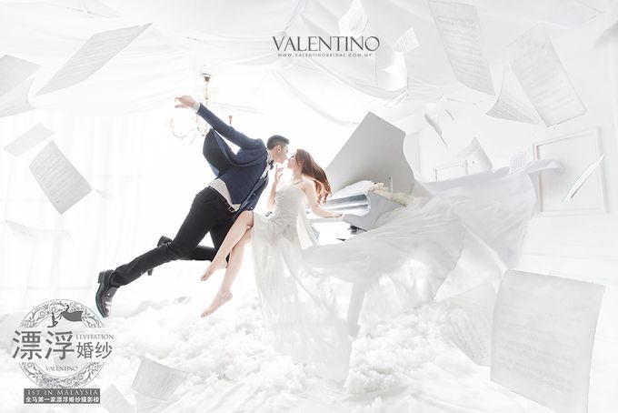 Levitation Photography by Valentino Bridal Cafe - 001