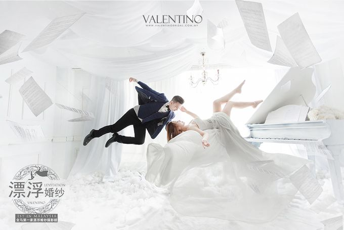 Levitation Photography by Valentino Bridal Cafe - 004