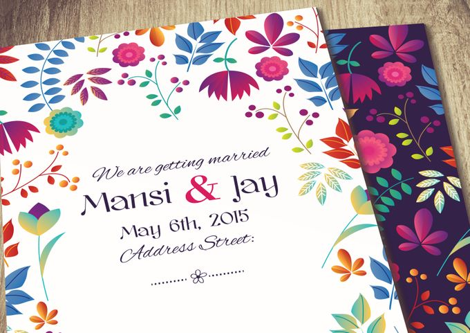 Printed Invitations by Let's Announce - 008